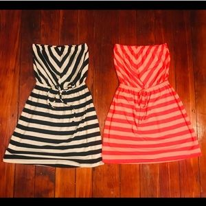 Two for one striped summer Dresses!